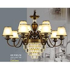 Đèn Chùm Châu Âu HP6 CC 9101/12 Ø930xH550+400