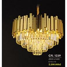 Đèn Chùm Pha Lê HP6 CFL 1239/600 Ø600xH400