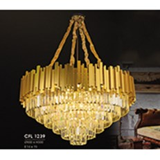 Đèn Chùm Pha Lê HP6 CFL 1239/800 Ø800xH500