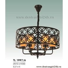 Đèn Chùm Nghệ Thuật HP6 TL 1997/6 Ø610xH380