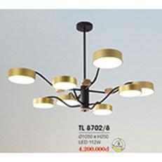 Đèn Chùm Nghệ Thuật HP6 TL 8702/8 Ø1050xH250