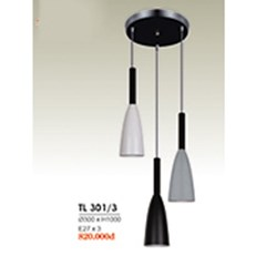 Đèn Thả Bàn Ăn HP6 TL 301/3 Ø300xH1000