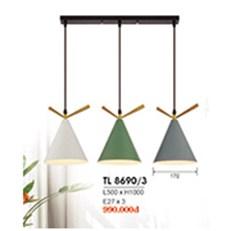 Đèn Thả Bàn Ăn HP6 TL 8690/3 L500xH1000