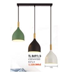 Đèn Thả Bàn Ăn HP6 TL 8691/3 L500xH1000