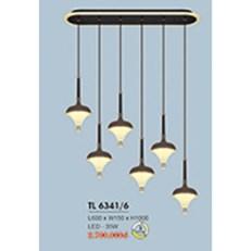 Đèn Thả Bàn Ăn HP6 TL 6341/6 L600xW150xH1000