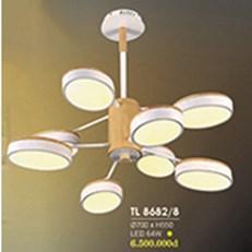 Đèn Chùm Nghệ Thuật HP6 TL 8682/8 Ø700xH550