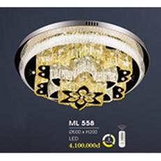 Đèn Mâm Pha Lê HP6 ML 558 Ø600xH200