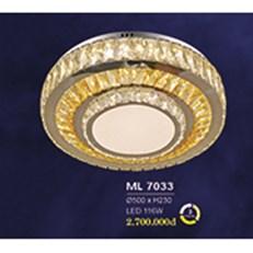 Đèn Mâm Pha Lê HP6 ML 7033 Ø500xH230