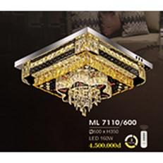 Đèn Mâm Pha Lê HP6 ML 7110/600 600xH350