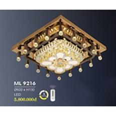 Đèn Mâm Pha Lê HP6 ML 9216/600 Ø600xH130