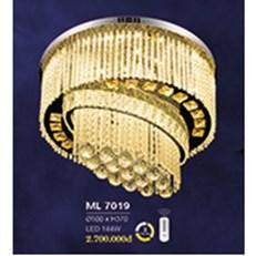 Đèn Mâm Pha Lê HP6 ML 7019 Ø500xH370