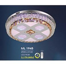 Đèn Mâm Pha Lê HP6 ML 1945 Ø500xH140