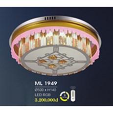 Đèn Mâm Pha Lê HP6 ML 1949 Ø500xH140