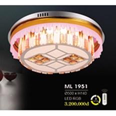 Đèn Mâm Pha Lê HP6 ML 1951 Ø500xH140