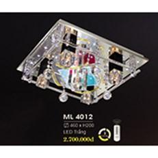 Đèn Mâm Pha Lê HP6 ML 4012 460xH200