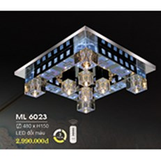 Đèn Mâm Pha Lê HP6 ML 6023 480xH150