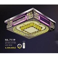 Đèn Mâm Pha Lê HP6 ML 7119 600xH180