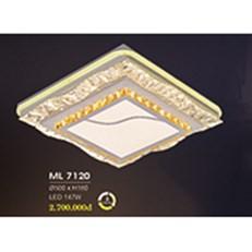 Đèn Mâm Pha Lê HP6 ML 7120 Ø500xH180