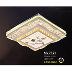 Đèn Mâm Pha Lê HP6 ML 7121 Ø500xH180
