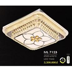 Đèn Mâm Pha Lê HP6 ML 7123 Ø500xH210