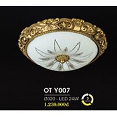Đèn Ốp Trần Cổ Điển HP6 OT Y007/320 Ø320