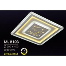 Đèn áp trần LED HP6 ML B103 500xH50