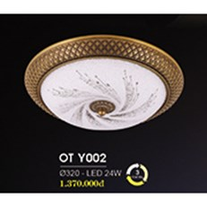 Đèn Ốp Trần Cổ Điển HP6 OT Y002/320 Ø320