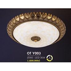 Đèn Ốp Trần Cổ Điển HP6 OT Y003/380 Ø380