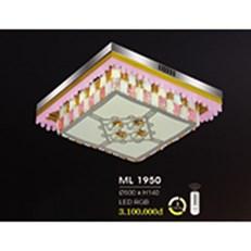 Đèn Mâm Pha Lê HP6 ML 1950 Ø500xH140
