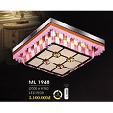 Đèn Mâm Pha Lê HP6 ML 1948 Ø500xH140