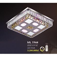 Đèn Mâm Pha Lê HP6 ML 1944 Ø500xH140