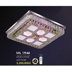 Đèn Mâm Pha Lê HP6 ML 1946 Ø500xH140