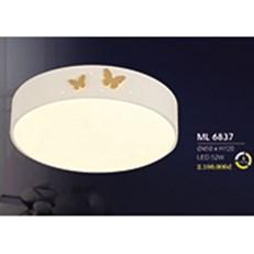 Đèn áp trần LED HP6 ML 6837 Ø450xH120