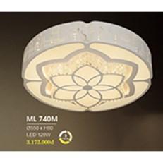 Đèn áp trần LED HP6 ML 740M Ø550xH80