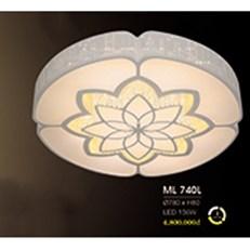 Đèn áp trần LED HP6 ML 740L Ø780xH80