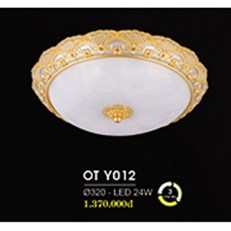 Đèn Ốp Trần Cổ Điển HP6 OT Y012/320 Ø320