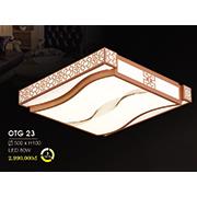 Đèn ốp trần gỗ HP6 OTG 23 500xH100