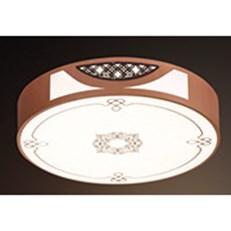 Đèn ốp trần gỗ HP6 OTG 25 Ø500xH100