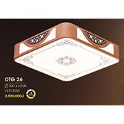 Đèn ốp trần gỗ HP6 OTG 26 500xH100