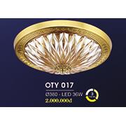 Đèn Ốp Trần Cổ Điển HP6 OT Y017/380 Ø380