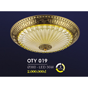 Đèn Ốp Trần Cổ Điển HP6 OT Y019/380 Ø380