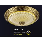 Đèn Ốp Trần Cổ Điển HP6 OT Y019/480 Ø480
