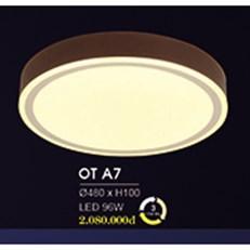 Đèn áp trần LED HP6 OT A7 Ø480xH100