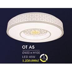 Đèn áp trần LED HP6 OT A5 Ø400xH100