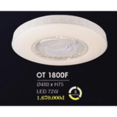 Đèn áp trần LED HP6 OT 1800F Ø480xH75