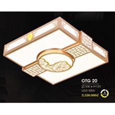Đèn ốp trần gỗ HP6 OTG 20 500xH120