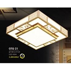 Đèn ốp trần gỗ HP6 OTG 21 500xH120