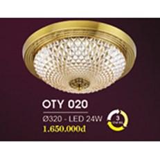 Đèn Ốp Trần Cổ Điển HP6 OT Y020/320 Ø320