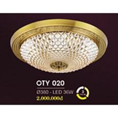 Đèn Ốp Trần Cổ Điển HP6 OT Y020/380 Ø380