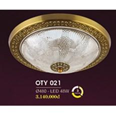 Đèn Ốp Trần Cổ Điển HP6 OT Y021/480 Ø480